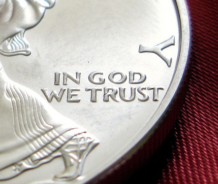 Do Christians really trust in God, like it says on the money?