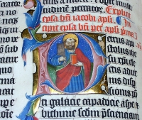 Illuminated (illustrated) manuscript