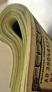 Big wad of US currency