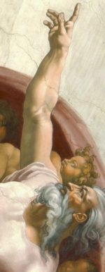 """Creation of Adam"" painting raises the question: does God even exist?"