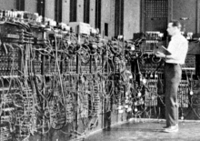 Lots of wires, but ENIAC didn't replace God