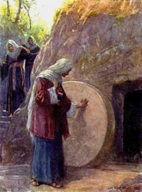 The women at the empty tomb isn't much evidence that Jesus was divine