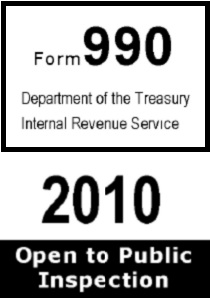 IRS filings don't help show that God exists